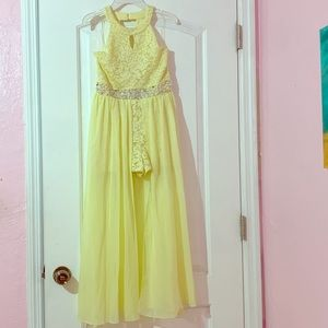 Speechless sleeveless maxi dress big girls